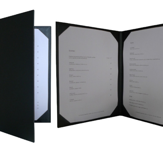 Die Cut Frames menu covers