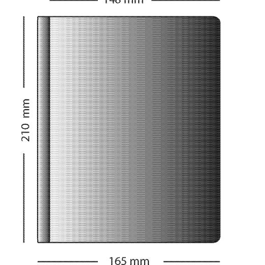 A5 PVC pockets