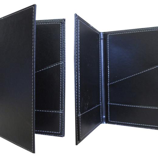 Stock Billfolds, check presenters- designermenus.com.au