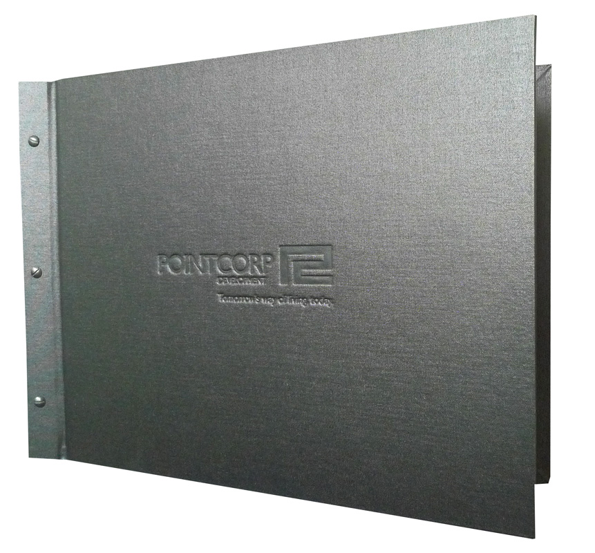 custom presentation folder Printed presentation folders, because first impressions count present your corporate material in custom presentation folders with your company details.